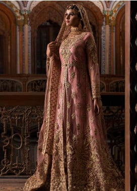 Maryum N Maria Embroidered Chiffon Unstitched 3 Piece Suit MNM19B 04 - Bridal Collection