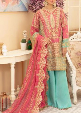 Maryum N Maria Embroidered Missouri Unstitched 3 Piece Suit MNM20C 02 DREAM DALE - Premium Collection