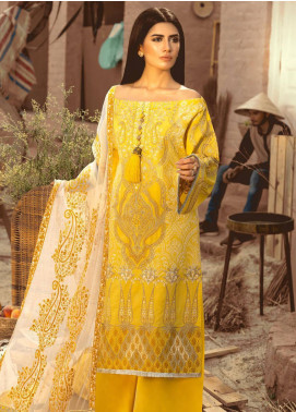 Maryum N Maria Embroidered Lawn Unstitched 3 Piece Suit MNM20L 07 DELUXE INFUSIONS - Premium Collection