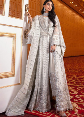 Maryum N Maria Embroidered Organza Unstitched 3 Piece Suit MNM20WD 04 Eternal Shine - Wedding Collection