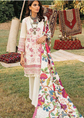 Maya by Nureh Embroidered Khaddar Unstitched 3 Piece Suit N20W 01 Parizaad - Winter Collection