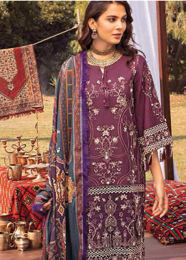 Maya by Nureh Embroidered Khaddar Unstitched 3 Piece Suit N20W 05 Guzel - Winter Collection