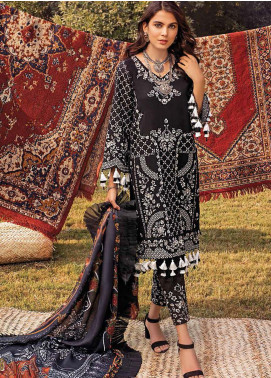 Maya by Nureh Embroidered Khaddar Unstitched 3 Piece Suit N20W 08 Mahbano - Winter Collection