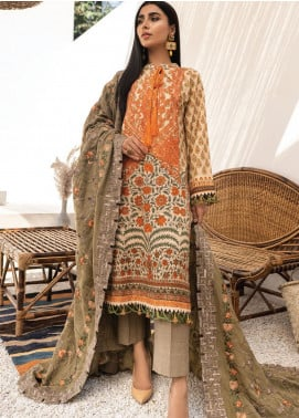 Maya by Nureh Embroidered Khaddar Unstitched 3 Piece Suit N20-W2 11 - Winter Collection