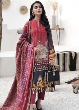 Maya by Nureh Embroidered Khaddar Unstitched 3 Piece Suit N20-W2 13 - Winter Collection