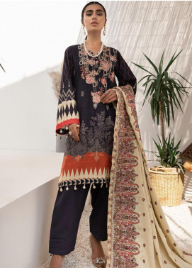 Maya by Nureh Embroidered Khaddar Unstitched 3 Piece Suit N20-W2 15 - Winter Collection