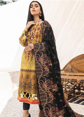 Maya by Nureh Embroidered Khaddar Unstitched 3 Piece Suit N20-W2 16 - Winter Collection