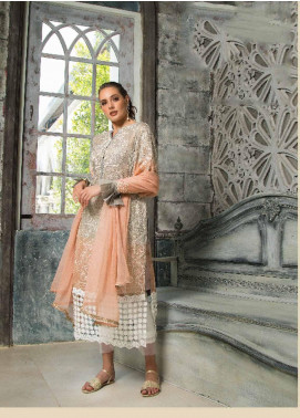 Mayeda Peerzada Embroidered Chikankari Unstitched 3 Piece Suit MDP19CK 02 - Luxury Collection