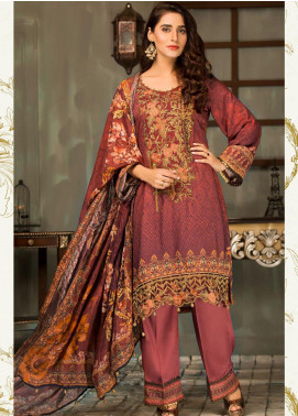 Mehak by Mohagni Embroidered Linen Unstitched 3 Piece Suit MK20MO 01 - Winter Collection
