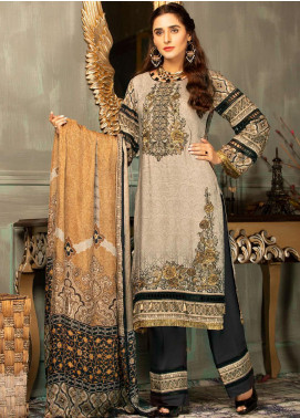 Mehak by Mohagni Embroidered Linen Unstitched 3 Piece Suit MK20MO 03 - Winter Collection