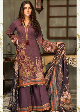 Mehak by Mohagni Embroidered Linen Unstitched 3 Piece Suit MK20MO 05 - Winter Collection