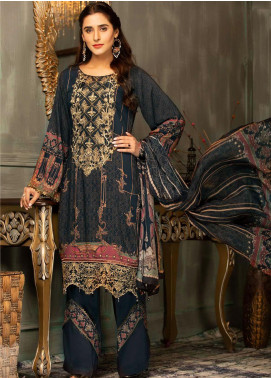 Mehak by Mohagni Embroidered Linen Unstitched 3 Piece Suit MK20MO 06 - Winter Collection