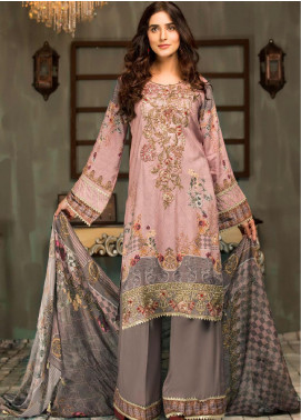 Mehak by Mohagni Embroidered Linen Unstitched 3 Piece Suit MK20MO 08 - Winter Collection