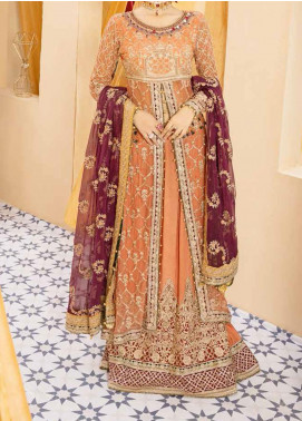 Mehfil by Adan's Libas Embroidered Chiffon Unstitched 3 Piece Suit AL20MW 10-RIWAYAT - Wedding Collection