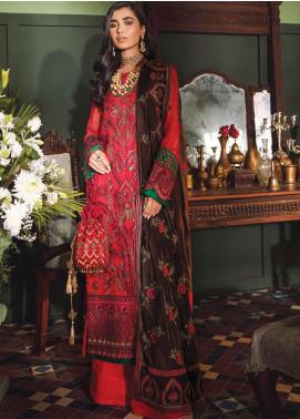 Mehrak by Iznik Embroidered Chiffon Unstitched 3 Piece Suit IZ20M 01 Paliz - Festive Collection