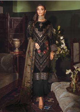 Mehrak by Iznik Embroidered Velvet Unstitched 3 Piece Suit IZ20M 04 Rita - Festive Collection