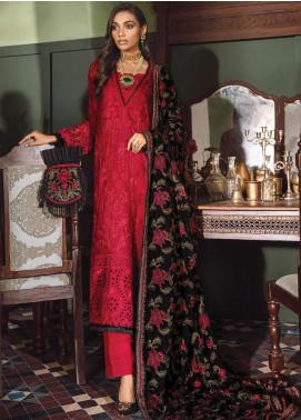 Mehrak by Iznik Embroidered Chiffon Unstitched 3 Piece Suit IZ20M 10 Suri - Festive Collection