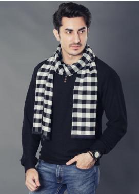 Sanaulla Exclusive Range Woollen Muffler 19-Multi-16 - Winter Collection