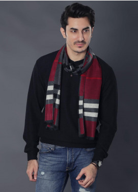 Sanaulla Exclusive Range Woollen Muffler 19-Multi-18 - Winter Collection