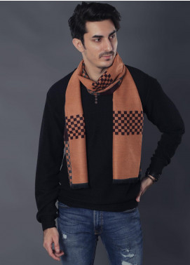 Sanaulla Exclusive Range Woollen Muffler 19-Multi-2 - Winter Collection