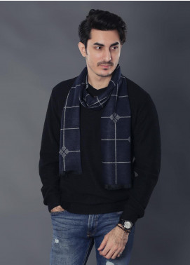 Sanaulla Exclusive Range Woollen Muffler 19-Multi-30 - Winter Collection