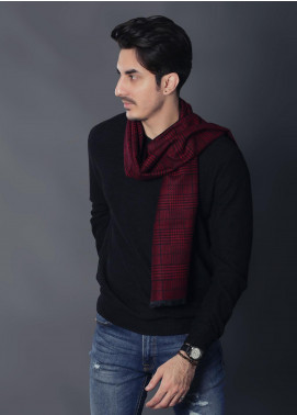 Sanaulla Exclusive Range Woollen Muffler 19-Multi-5 - Winter Collection
