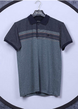 Sanaulla Exclusive Range Cotton Casual Men T-Shirts -  5025 Green