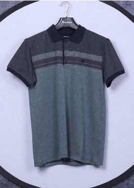 Sanaulla Exclusive Range Cotton Casual Men T-Shirts - 5025 Green