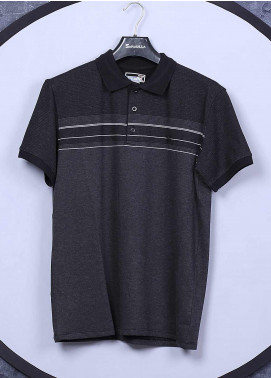 Sanaulla Exclusive Range Cotton Casual T-Shirts for Men - 5025 Grey
