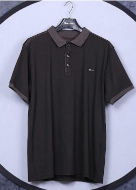 Sanaulla Exclusive Range Cotton Casual T-Shirts for Men -  5133 Black
