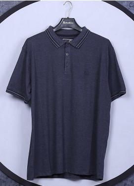 Sanaulla Exclusive Range Cotton Casual T-Shirts for Men - 5148 Blue