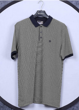 Sanaulla Exclusive Range Cotton Casual Men T-Shirts -  5311 Green
