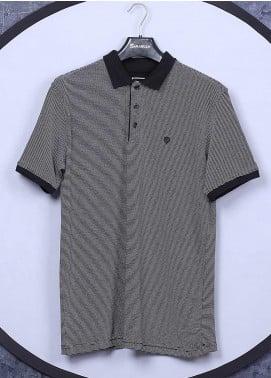 Sanaulla Exclusive Range Cotton Casual T-Shirts for Men - 5311 Grey