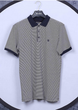 Sanaulla Exclusive Range Cotton Casual T-Shirts for Men -  5311 Light Grey