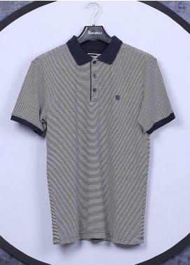 Sanaulla Exclusive Range Cotton Casual T-Shirts for Men - 5311 Light Grey