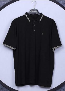 Sanaulla Exclusive Range Cotton Casual T-Shirts for Men - 5317 Black