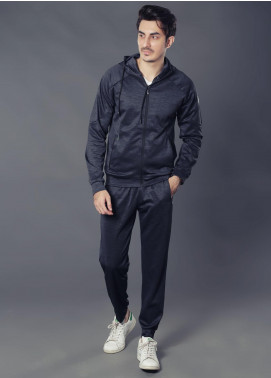 Sanaulla Exclusive Range Premium Jersey Track Suits for Men -  19-7768 Black