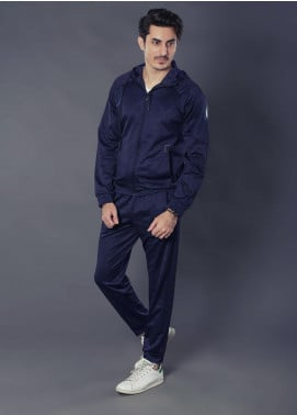 Sanaulla Exclusive Range Premium Jersey Track Suits for Men -  19-7768 Blue