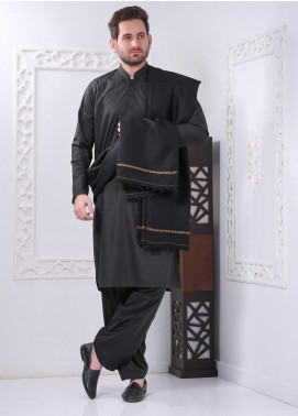 Sanaulla Exclusive Range Embroidered Pashmina Shawl SU20MS 286916 - Pashmina Shawls