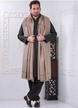 Sanaulla Exclusive Range Embroidered Pashmina Shawl SU20MS 323258 - Pashmina Shawls