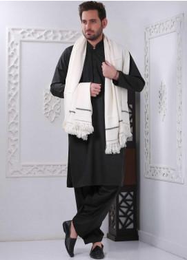Sanaulla Exclusive Range Embroidered Pashmina Shawl SU20MS 323895 - Pashmina Shawls