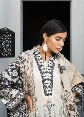 Mahgul by Al Zohaib Embroidered Lawn Unstitched 3 Piece Suit MG18L 5A - Spring / Summer Collection