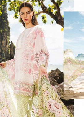 Maheen Taseer Embroidered Lawn Unstitched 3 Piece Suit MHT18L 2A - Spring / Summer Collection