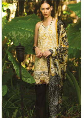 Maheen Taseer Embroidered Lawn Unstitched 3 Piece Suit MHT18L 4A - Spring / Summer Collection