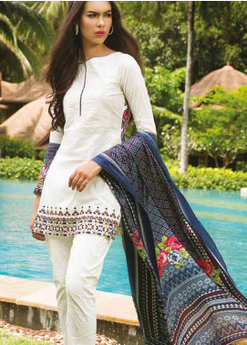 Maheen Taseer Embroidered Lawn Unstitched 3 Piece Suit MHT18L 9A - Spring / Summer Collection