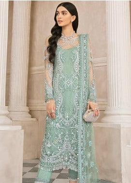 Mirabella by Gulaal Embroidered Net Unstitched 3 Piece Suit GL20M MG-02 SELENE - Luxury Collection