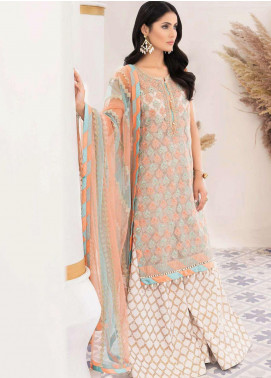 Mirage by Sana Sheraz Embroidered Organza Unstitched 3 Piece Suit SSH20M 03 Sublime - Festive Collection