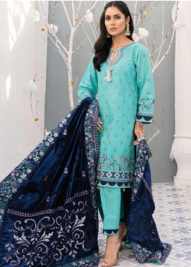 Mirage by Sana Sheraz Embroidered Raw Silk Unstitched 3 Piece Suit SSH20M 05 Opulent - Festive Collection