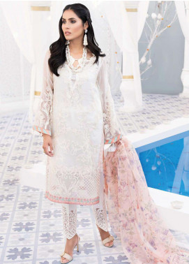 Mirage by Sana Sheraz Embroidered Chiffon Unstitched 3 Piece Suit SSH20M 07 Serene - Festive Collection