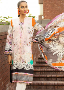 Mishkal by Rungrez Embroidered Lawn Unstitched 3 Piece Suit MSK19L 02 - Festive Collection